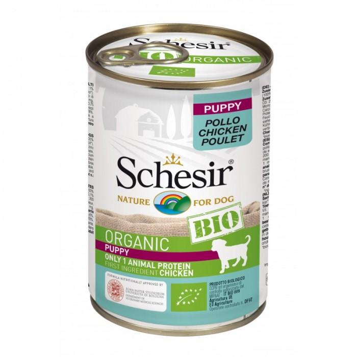 Aliment Schesir Puppy Bio 400 g (Chiots)