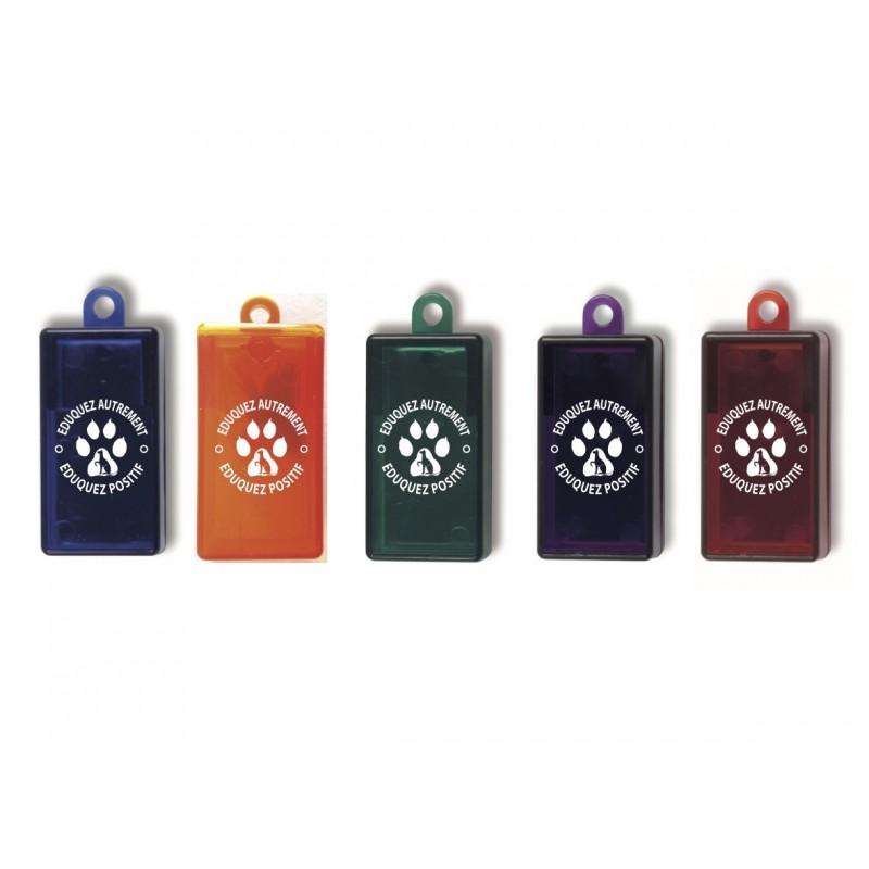 Clicker translucide ANIMALIN (5 coloris)