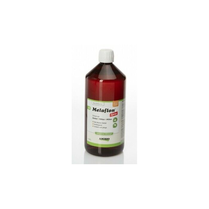 Recharge de Mélaflon Spray – Contre tiques, puces et acariens (Flacon de 1000 ml)