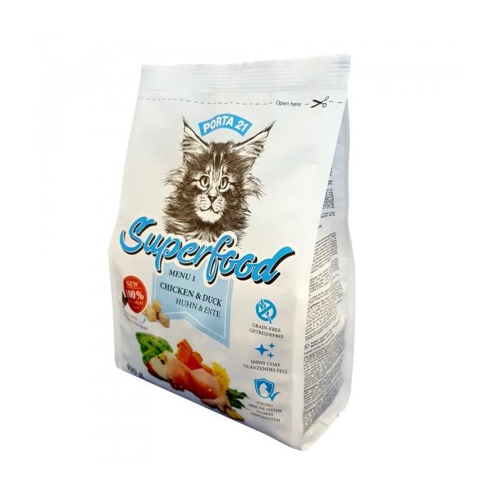 Croquettes pour chats Superfood Porta 21 (2 conditionnements)