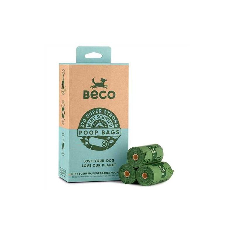 "BecoBags parfum Menthe ""Value Pack"" (18 rouleaux/270 sacs)"