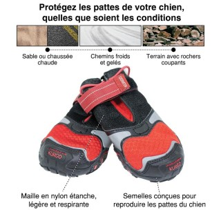 Chaussures anti-brûlures Blaze Cross pour chiens (4 tailles)