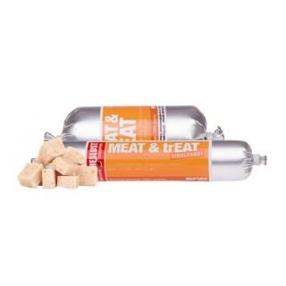 Saucisse d'entraînement 100 % volaille Meat & Treat (2 cond.)