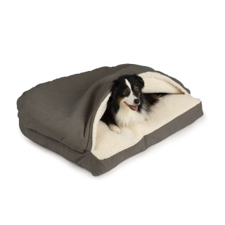 Coussin Caverne Deluxe rectangulaire (Luxury Microsuede Rectangle Cosy Cave)