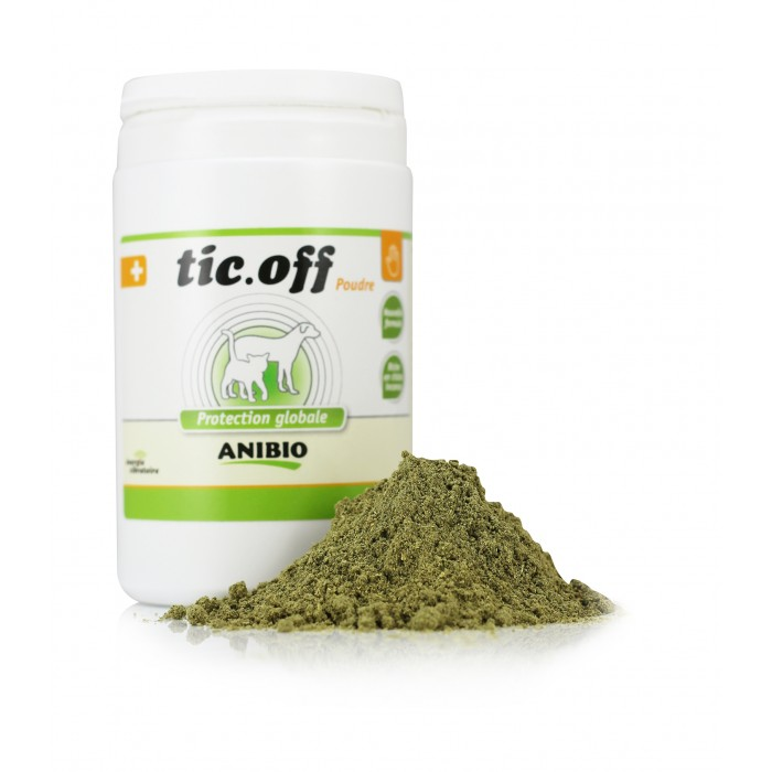 Tic-Off Cheval (500 g) – Insectifuge Tiques & Puces