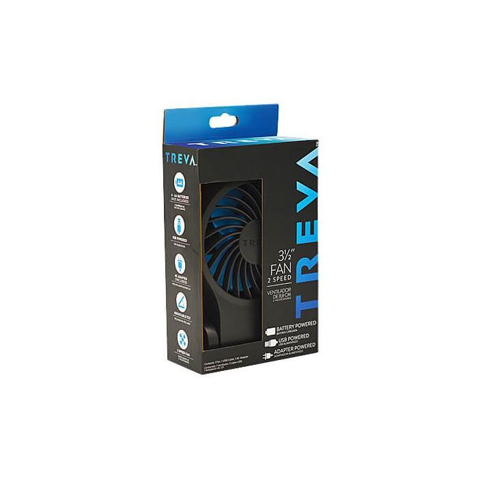 Ventilateur compact – Alimentation par batterie, USB ou secteur