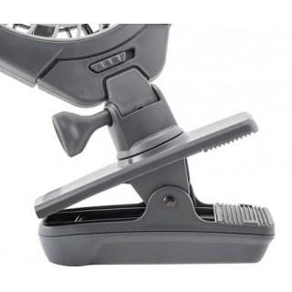 Ventilateur portatif avec clip de fixation
