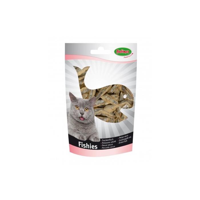 Petits poissons séchés (Fishies 50 g) pour chiens et chats