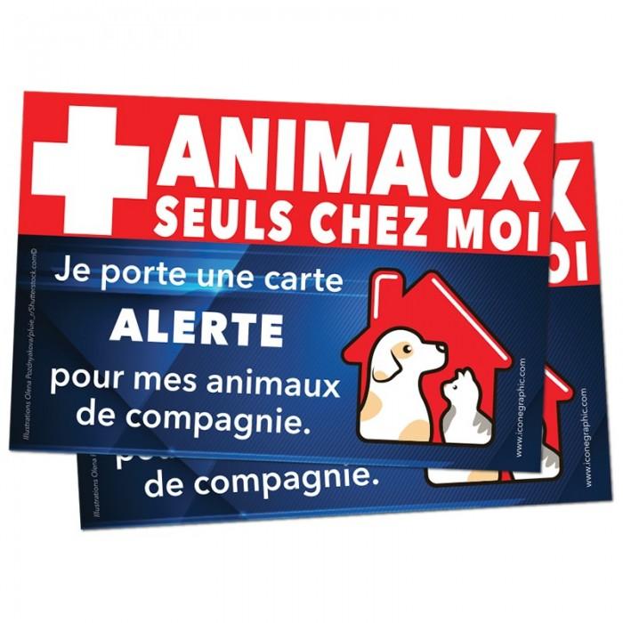 Carte d'alerte d'urgence
