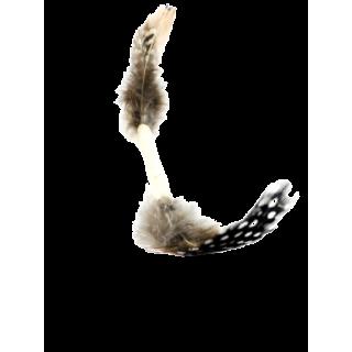 Jouet naturel pour chat, Moustache, de profil par AnimalinBoutique