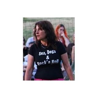 "T-shirt ""Sex, Dogs & Rock'n'Roll"""