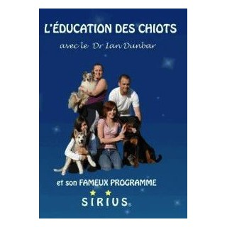 DVD  L?Education des Chiots Sirius