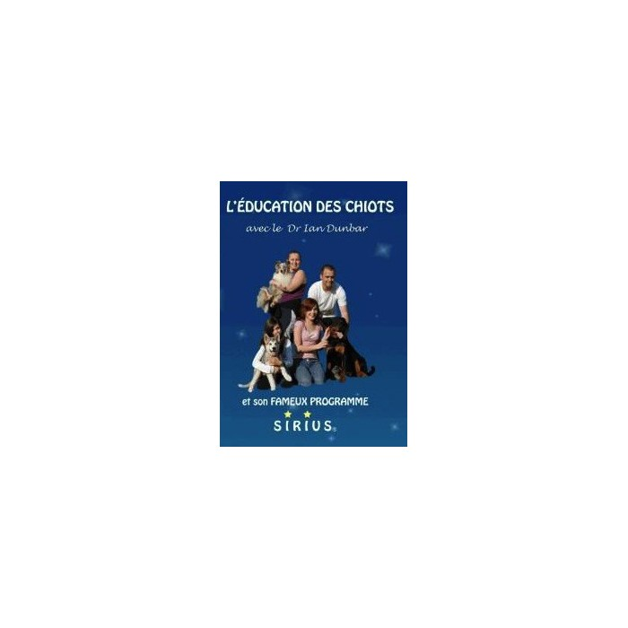 DVD  L?Education des Chiots Sirius