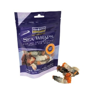 Rouleaux de peaux de poisson (Fish4Dogs Sea Wraps)