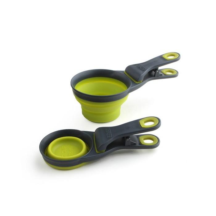 Doseur pliable avec Clip d'attache (Collapsible Popware KlipScoop®)