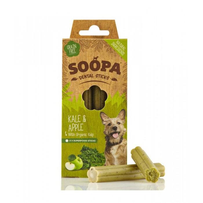 Sticks dentaires aux fruits et légumes (Soopa Dental Sticks- 3 Variétés - 100 g)