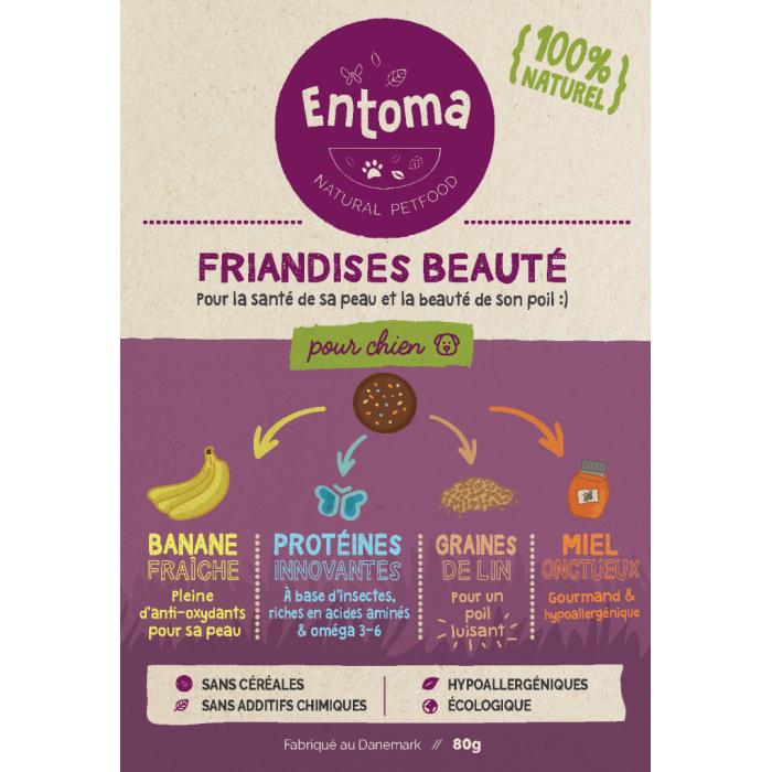 Friandises à la farine d'insectes (Entoma Natural Treats)