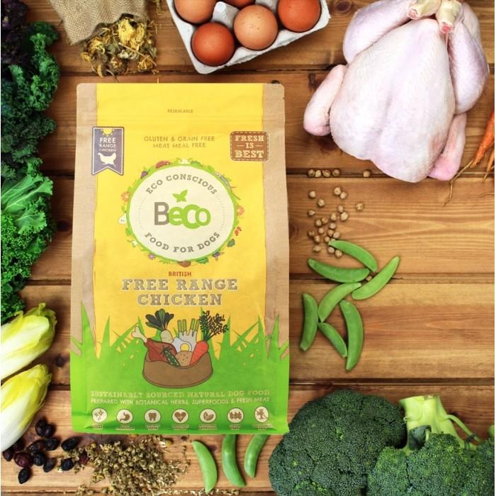 Croquettes biologiques au poulet (Beco Free Range Chicken)