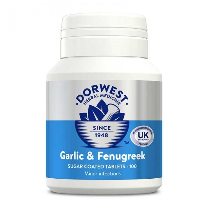 Comprimés de Fenugrec (Dorwest Garlic & Fenugreek)
