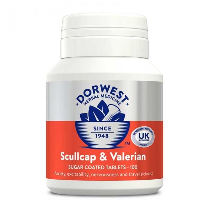 Comprimés de Valériane & Sculletaire casquée (Dorwest Valerian & Scullcap Tablets)