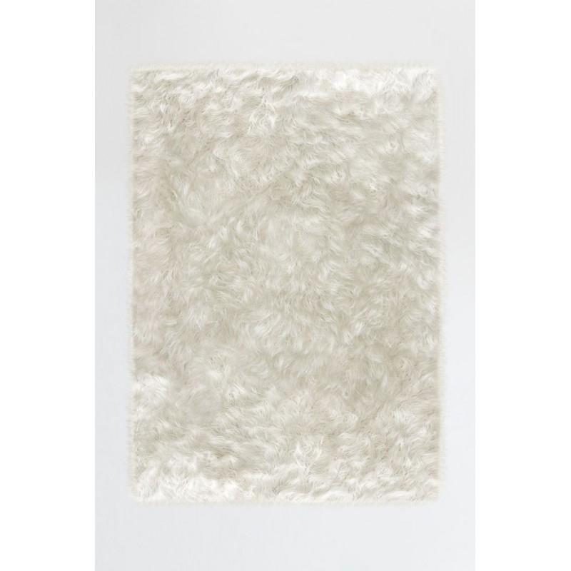 Tapis déco lavable (Ruggable Shag Winter White)