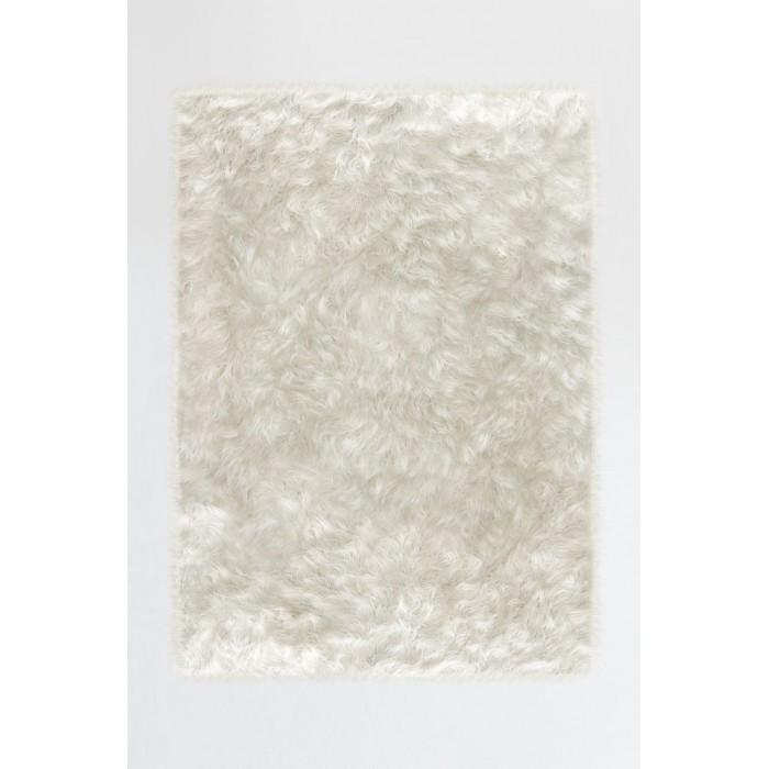 Tapis déco hyper pratique (Ruggable Shag Winter White)