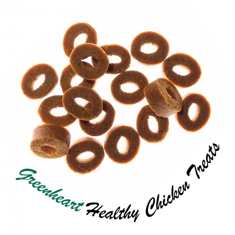 Mini Rouleaux au poulet Bio (Greenheart Healthy Chicken Rolos)