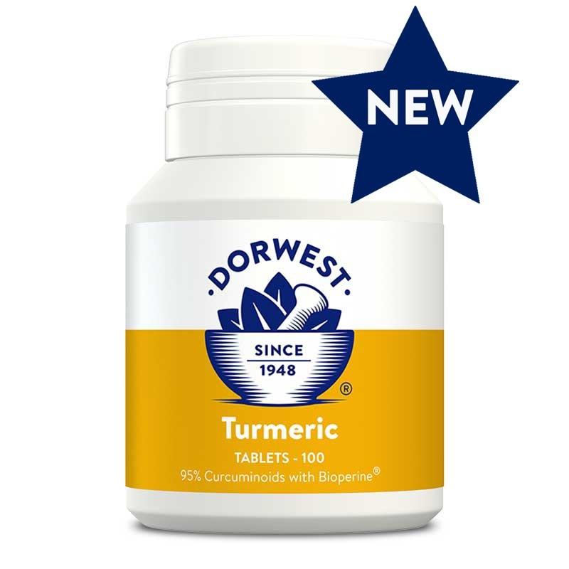Comprimés de curcuma (Dorwest Turmeric Tablets)