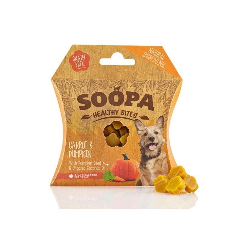 Friandises diététiques aux fruits et légumes (Soopa Healthy Bites)
