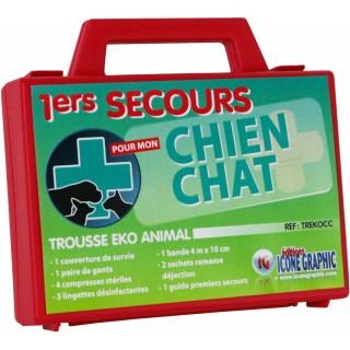 Trousse de premiers secours pour chiens et chats