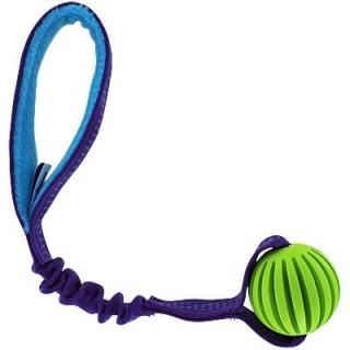Tug élastique avec Balle rainurée (Groovy Bungee Ball Tug)