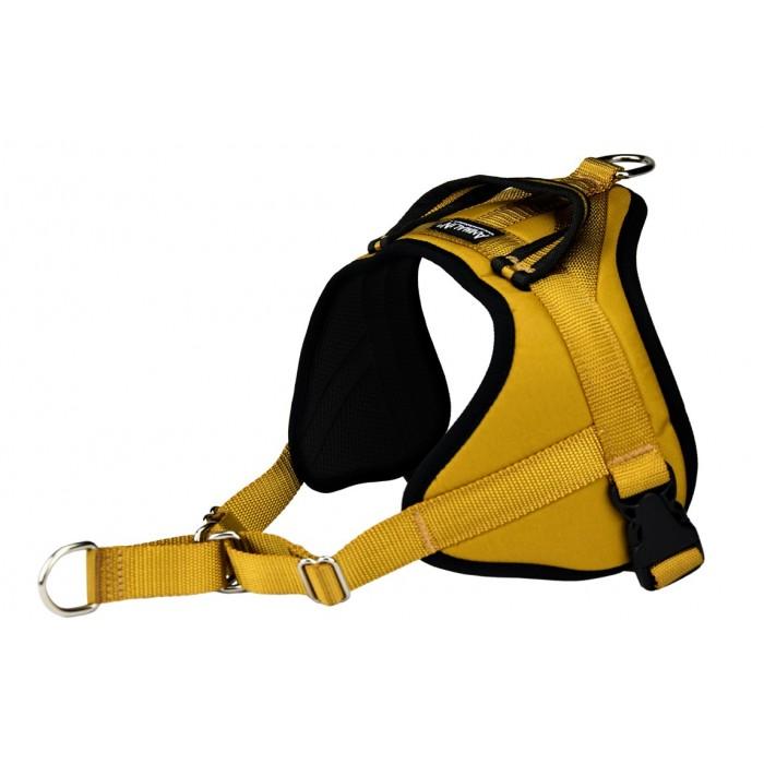 - 25 % sur Ocre jaune – Harnais Animalin® AUTOMNE (3 coloris/7 tailles)