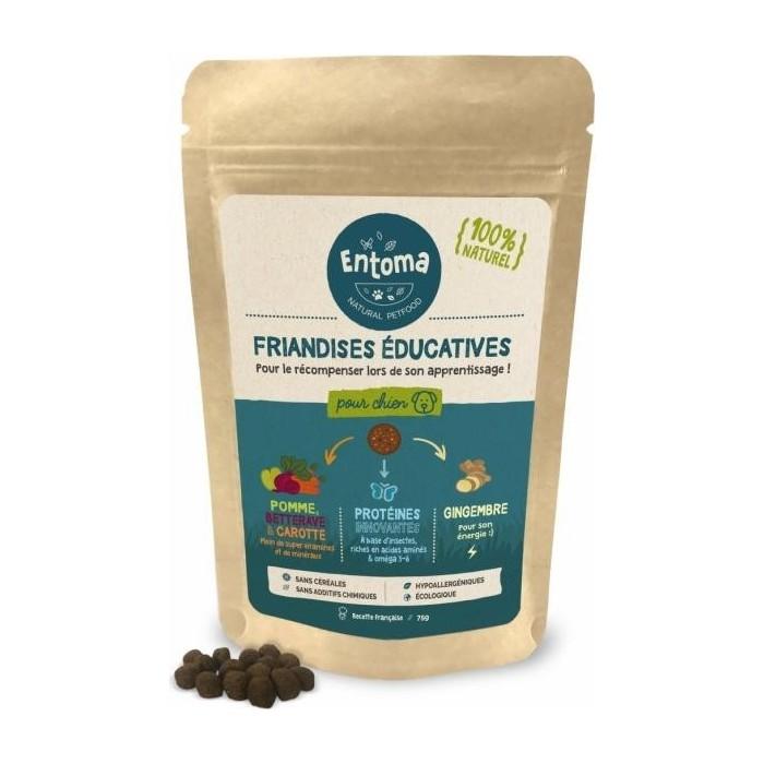 Friandises à la farine d'insectes (Education - 75 g)