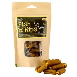 Saucisses de Poisson pour soins articulaires (Fish'n Hips)