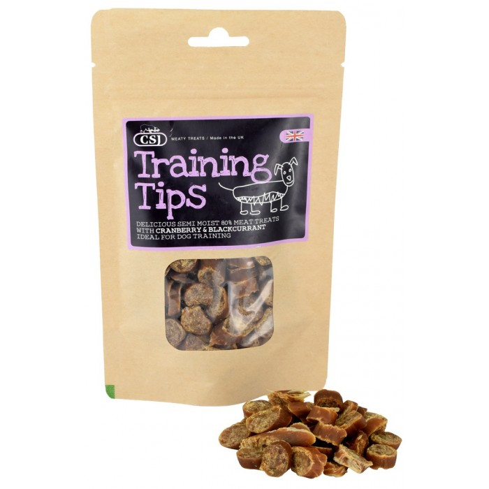 Friandises semi-humides 80% viande (Training Tips - 100 g)