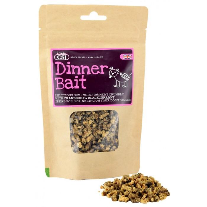 Mini Friandises semi-humides 80% viande (Dinner Bait)