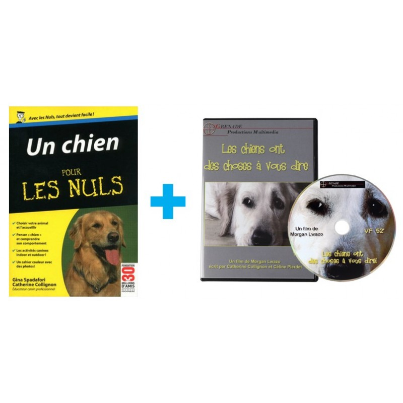 Kit Education du chien (Livre + DVD)