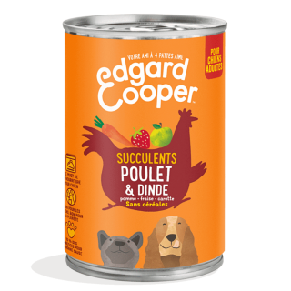 Repas humide aux Viandes Edgard & Cooper