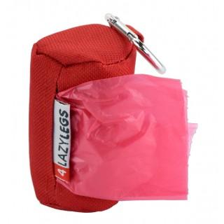 """Pochette distributrice de sacs """"ramasse-crottes"""" (4LazyLegs Poop Bags)"""