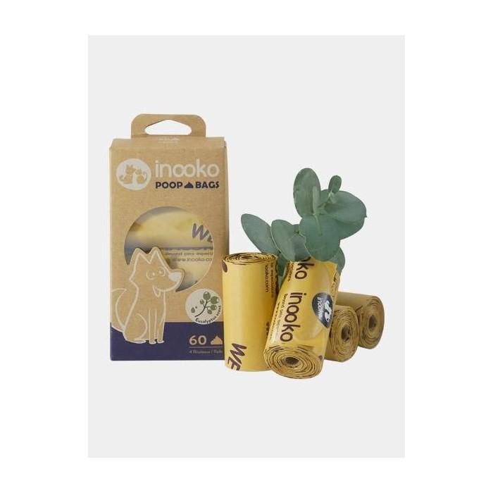 Sacs à déjections parfum Eucalyptus (Innookö Poop Bags)