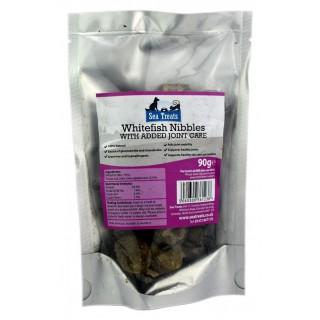 Friandises au poisson pour la mobilité articulaire (Sea Treats Whitefish Nibble Joint Care)