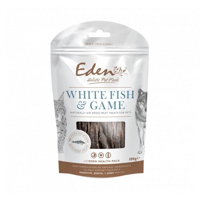 Récompenses semi-humides Poisson/Gibier (Eden Fish Treats)