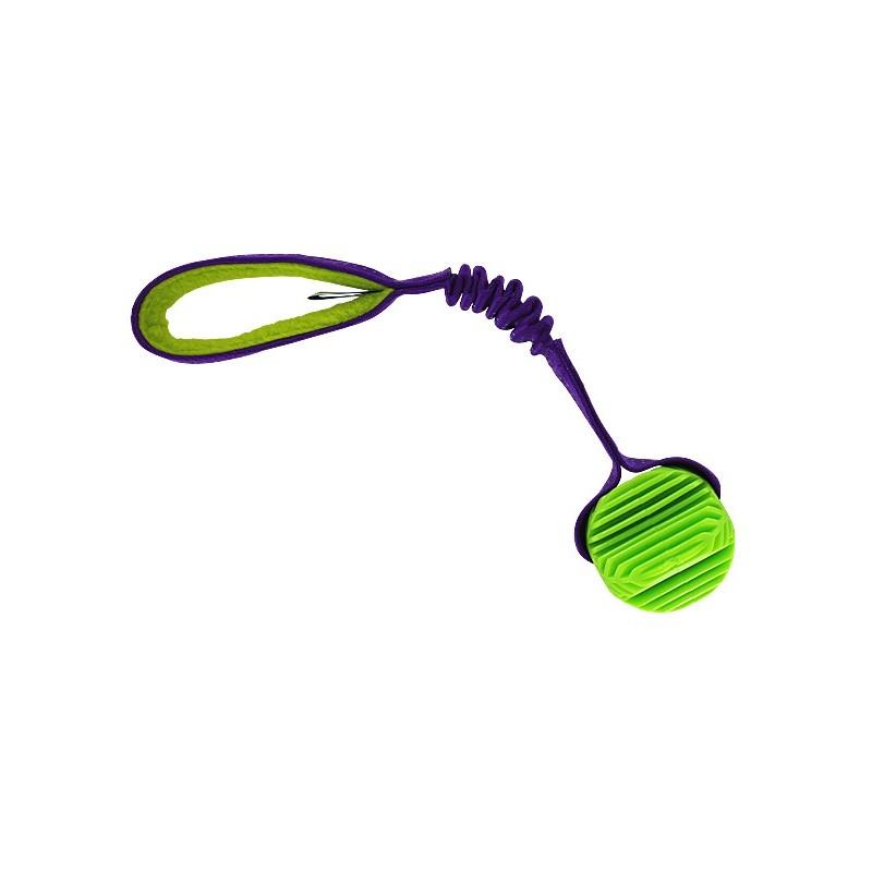 Tug élastique avec Balle striée (Broker's Bungee Ball Tug)