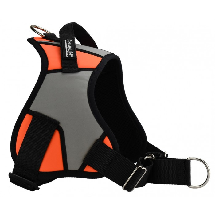 Harnais Animalin® REFLEX PLUS Orange Fluo (5 tailles)