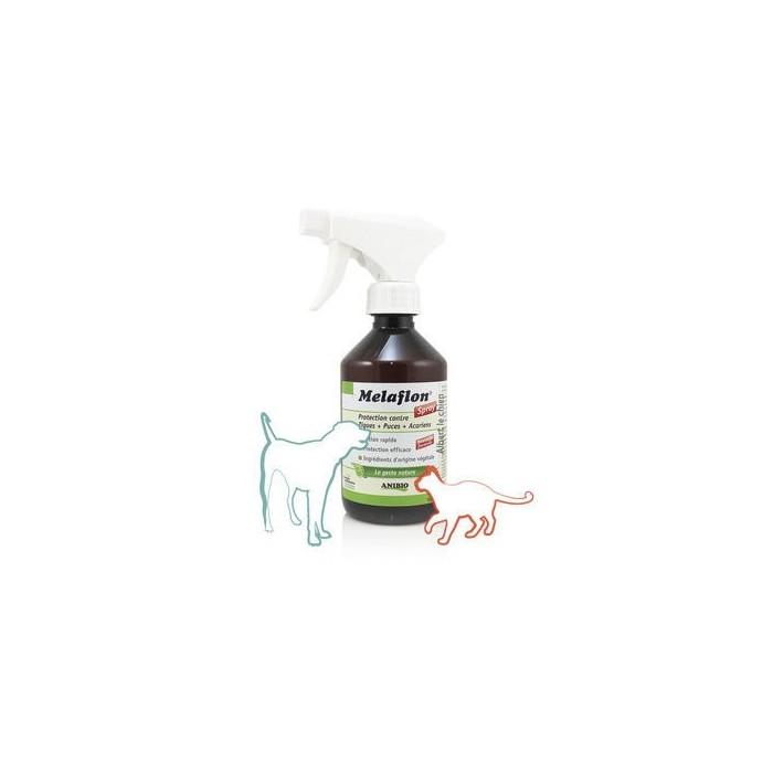 Melaflon Spray 300 ml –  Contre tiques, puces et acariens