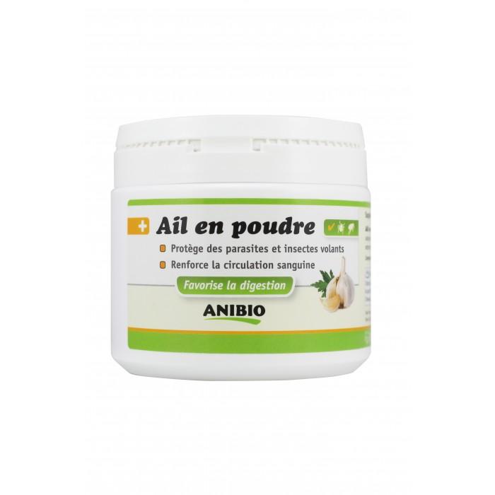 Ail en poudre Anibio – Protection contre les parasites (350 g)