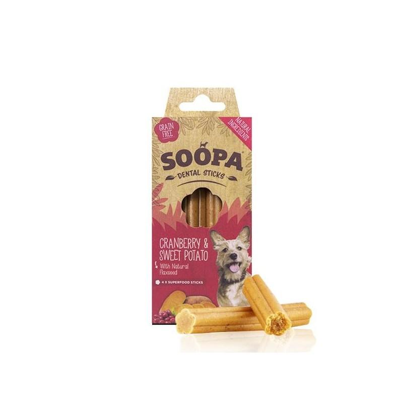Sticks dentaires aux fruits et légumes (Soopa Dental Sticks)