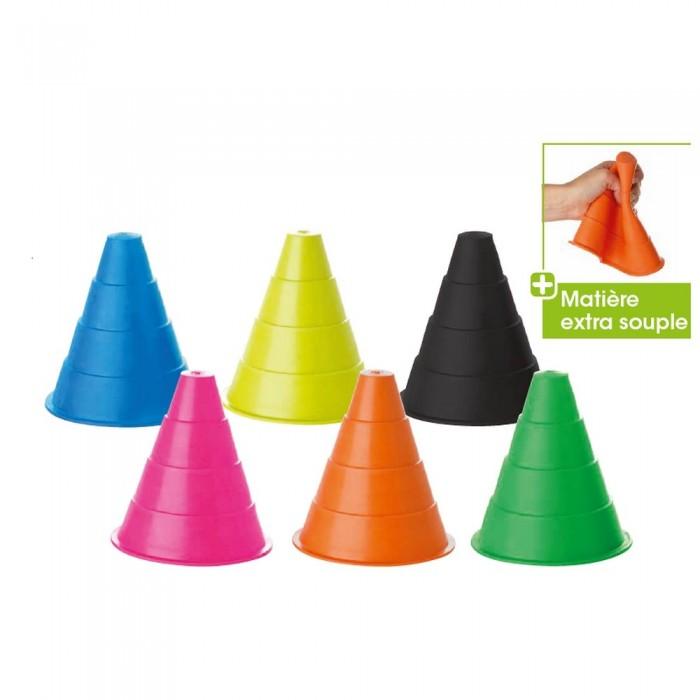 Cône Couleur Extra Souple 16 cm - 6 coloris