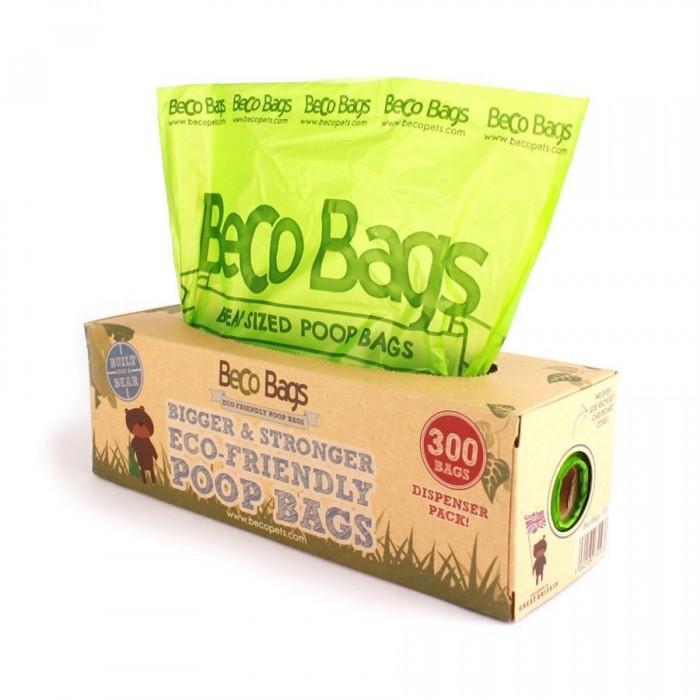 Rouleau Distributeur XL de BecoBags (300 sacs)