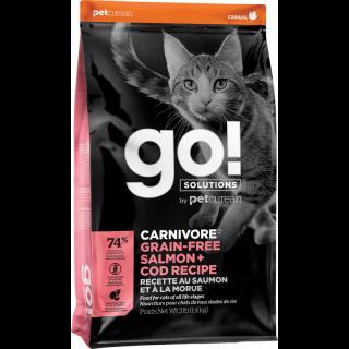 Croquettes pour chats Saumon & Morue (1,4 kilo)